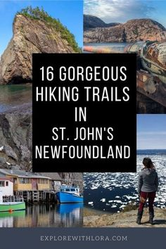 Wondering where to go hiking near St. John's Newfoundland? Here are 16 gorgeous St. John's hiking trails you don't want to miss! Includes hiking trails in St. John's as well as day trip ideas for hiking trails nearby. #Newfoundland #Hiking Go Hiking, Hiking Trails, Hiking Photography, Canadian Travel, Travel Tips, Travel Guides, St John's, Newfoundland, Places Around The World