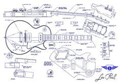 419 best build guitarbass and electronic images on pinterest in guitar les paul blue print pesquisa google malvernweather