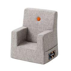 Børnemøbler & Gulvpuder | KlipKlap børnestol | Lys multi grå