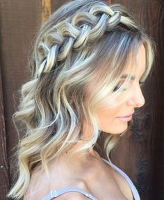 Featured Hairstyle: Hair and Makeup Girl (Heidi Marie Garrett); www.hairandmakeupgirl.com; Wedding hairstyle idea.