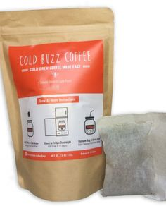 Cold Buzz Decaf Coffee Packs
