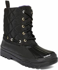Sperry Top-Sider Women's Boots, Gosling Quilted Rain Boots on shopstyle.co.uk