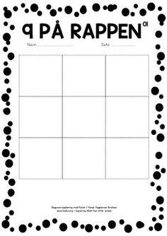 SøNDAGSOVERRASKELSE 18 - 9 På RAPPEN - TeachersPayTeachers.com