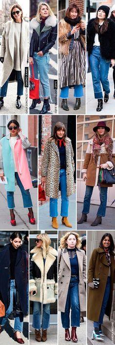 """Trend alert street style #NYFW: """"ugly jeans"""", as calças fashionistas da vez! - Garotas Estúpidas - Garotas Estúpidas"""