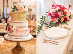 The Carolina Inn wedding photos - bridal showcase 2016. Mikkel Paige Photography captures the event with Erin McLean Events and Ashley Cakes NC. Flowers by Tre Bella.