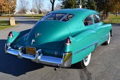 ~ 1949 Cadillac Series 62 Club Coupe Sedanette.