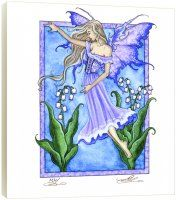 Lily of the Valley Fairy - Art Plaque