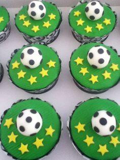 Cupcakes Futebol