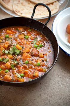 Potato Peas Curry