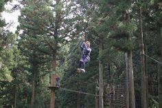 日本では12番目ですが、九州では初となる「フォレストアドベンチャー」。フランス発祥の自然共生型エコパークで、一般的なリゾート開発と違い、森林と共生し森林を有効活用したレジャー施設です。 小学4年生以上に限定した本コースには日本初のアクティビティを4つ採用し、その中の1つ「パイレーツ」は最高難度となっており、大人の満足度を最大限に引き出すコース設定となっています。