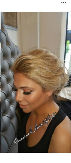 38 best Up do hairstyle options for bridesmaids images on Pinterest ...