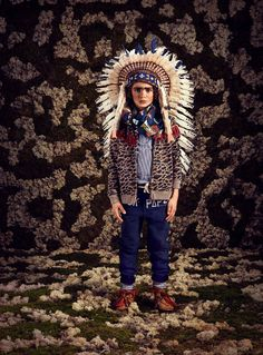 Tribal accessories for the world influences at Scotch Shrunk boyswear collection fall 2015