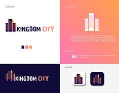 Profile Logo, Flat Logo, City Logo, Graphic Design Illustration, New Work, Logo Design, Behance, Gallery, Check