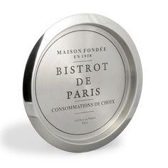 Set de table bistrot de Paris | Table bistrot, Set de table et Table