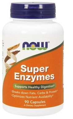 NOW Super Enzymes, 90 Capsules digestive enzymes | Digestive Health | Supplements | Gun Barrel Vitamin Store