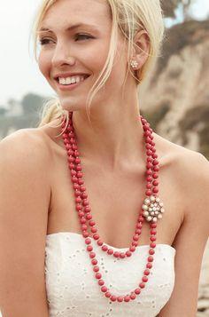 Stella & Dot La Coco necklace! purchase here at my online Stella & Dot trunk show http://www.stelladot.com/ts/67gk5