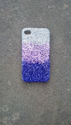 glitter iPhone 4 case glitter case ombre faded by kickinitclothing, $15.00