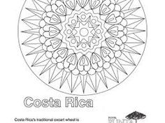 costa rica and coloring pages - photo#40
