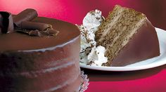 """Chef Linton Hopkins' take on the classic chocolate cake featured in his """"Cooking with Coca-Cola"""" series."""