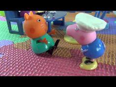 Peppa e Giorgio fanno il gelato. Giochiamo con Peppa Pig e Play Doh