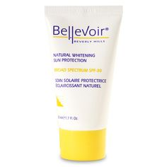 We Provides very high protection to easily darkened and sun sensitive skin. Buy natural whitening sun protection cream at affordable prices online at bellevoir.com.