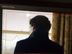 """SHERLOCK (BBC) ~ On April 11, 2016, show co-creator and co-star Mark Gatiss tweets, """"Back!"""" with this first photo of Benedict Cumberbatch as Sherlock Holmes during the filming of Season 4, Episode 1."""