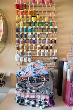My (Super Small) Sewing Space - how to create in just a small corner!