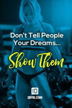 Show us your dreams. #health #fitness #fit #dedication #workout #hiit #intervaltraining #motivation #healthy #determination #exercise