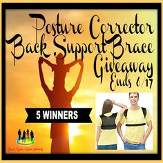New Age Mama: Posture Corrector Back Support Brace #Giveaway