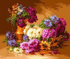 Flowers  gobelin tapestry by Handmadetapestry on Etsy, $1000.00