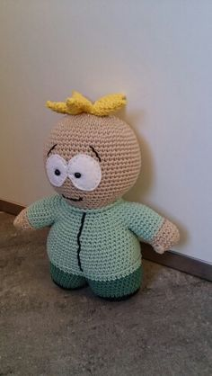 Southpark butters crochet