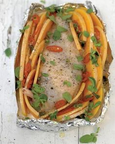 roasted chicken breast with creamy butternut squash and chilli #wonderful