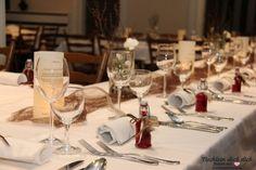 Tischdekoration zum 70. Geburtstag