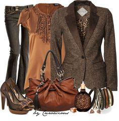 """""""Copper McTweed"""" by curvacious on Polyvore"""