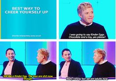 Jon Richardson & Rob Beckett // 8 out of 10 cats I never thought about it like that