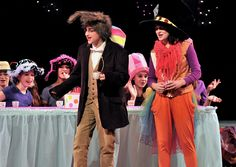 McGee Middle School production of Alice in Wonderland Jr. | March Hare and Mad Hatter Tea Party