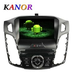Android Car DVD GPS Navi Stereo for Ford Focus Audio Radio Player 2012 2014 Wifi