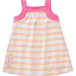 Gymboree NWT By The Seashore Stripe Knit Dress 0 3 mos