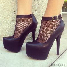 Cast Your Net Platform Booties on Chiq  $46.80 http://www.chiq.com/gojane/cast-your-net-platform-booties