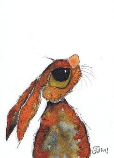 HARES IN LOVE by Dawn Barker