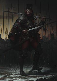 ArtStation - Swordsman, Alexander Shatohin