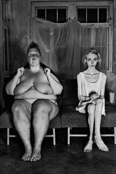 Diese Fotos faszinieren und schockieren gleichzeitig – ein Fotoprojekt von Antje Kröger zeigt den krassen körperlichen Unterschied zwischen Adipositas ...