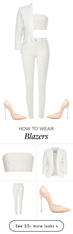 """Untitled #1423"" by street-style-98 on Polyvore featuring River Island, Katie Ermilio and Casadei"