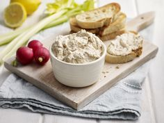 Smoked Mackerel Pâté with Tracklements Mustardy French Mayonnaise and Strong Horseradish Cream