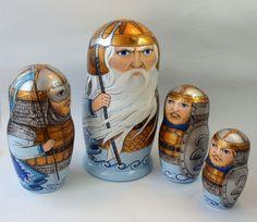 Авторская работа. Русские богатыри  Тридцать три богатыря, Все красавцы молодые, Великаны удалые, Все равны, как на подбор, С ними дядька Черномор.