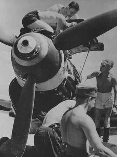 Service Engine Slovak fighter Messerschmitt Bf.109G