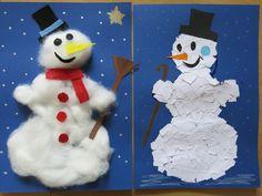 Schneemänner basteln mit ideas4parents!