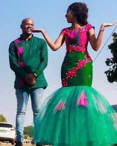 African Wear Dresses, Latest African Fashion Dresses, African Print Fashion, African Prints, Tsonga Traditional Dresses, South African Traditional Dresses, Traditional Outfits, Zulu Traditional Wedding, African Wedding Attire