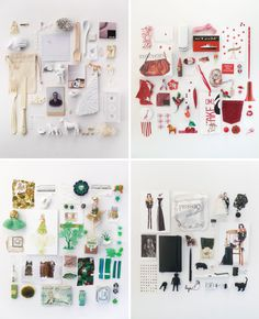 """things"" for great product photography ideas. Love the look of things of all shapes and sizes arranged neatly together! #styling #productphotography"