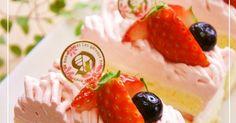 簡単で可愛い苺のモンブランケーキ。小さめサイズで、クリームたっぷり&ナッペもしなくていいのがお気に入りのスタイル。